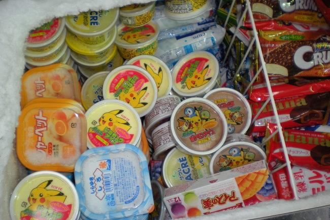 pokemon ice cream