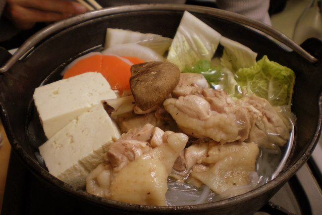 chicken hot pot