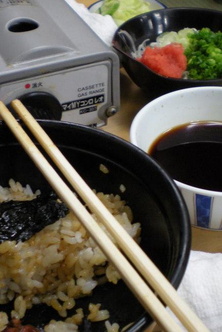 rice bowl with chicken liver teriyaki